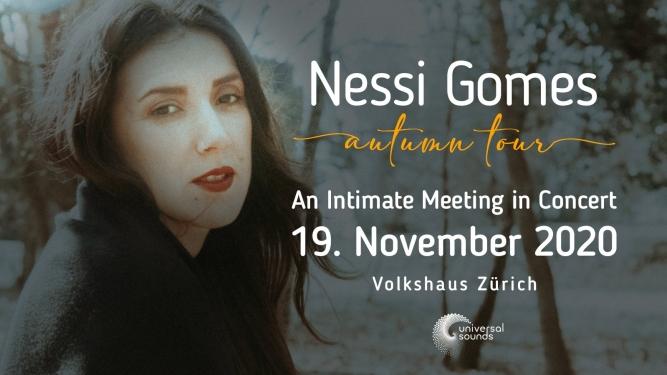 Nessi Gomes Volkshaus, Weisser Saal Zürich Tickets