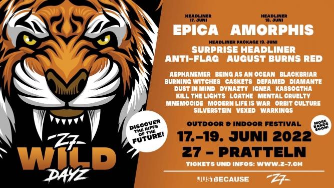 Z7 Wild Dayz 2022 Konzertfabrik Z7 Pratteln Tickets