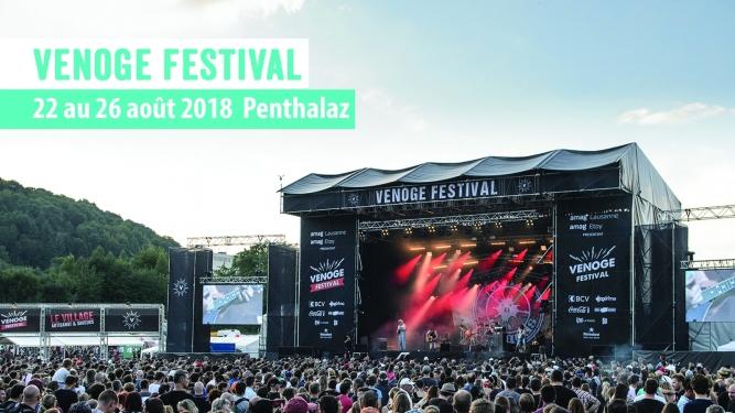 Venoge Festival 2018 Venoge Festival Penthalaz Biglietti