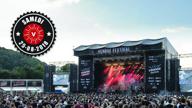 Samedi 25.08.2018 Venoge Festival Penthalaz Tickets