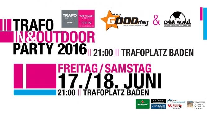 Trafo In & Outdoor Party Trafoplatz Baden Tickets
