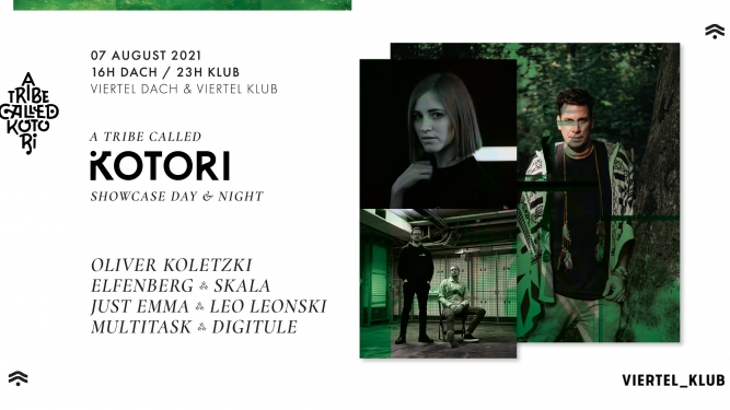 A Tribe called Kotori Day & Night Viertel Dach/Viertel Klub Basel Tickets