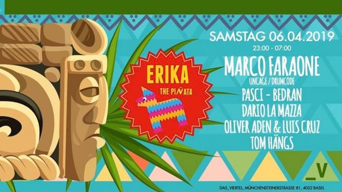 Erika The Piñata Viertel Klub Basel Tickets
