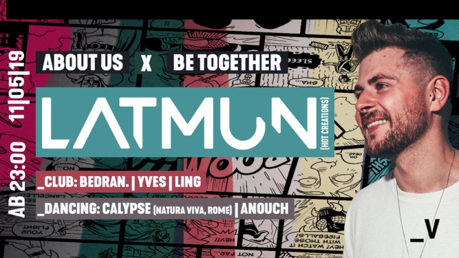 About Us x Be Together w/ Latmun Viertel Klub Basel Tickets