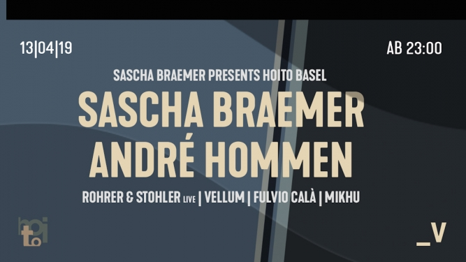 Sascha Braemer presents Viertel Klub Basel Tickets