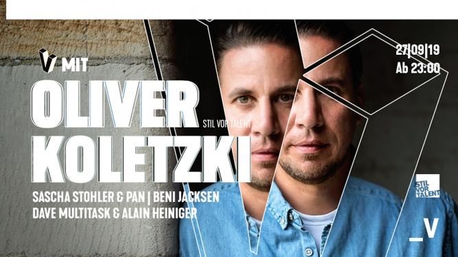V mit Oliver Koletzki Viertel Klub Basel Tickets