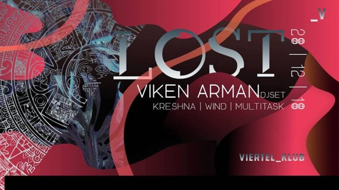 Lost w/ Viken Arman Viertel Klub Basel Tickets