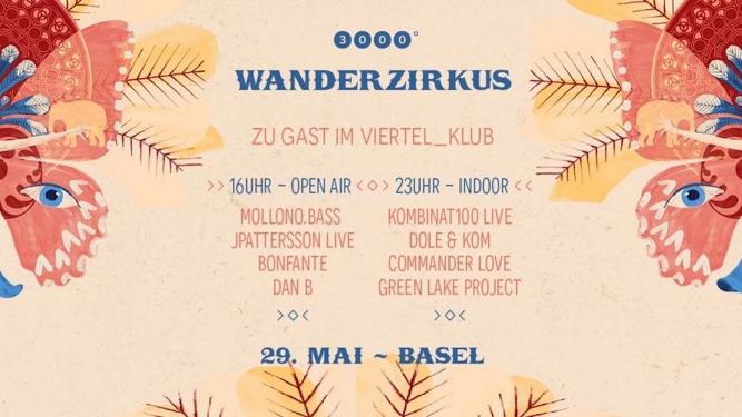 3000Grad Wanderzirkus in Basel Viertel Klub Basel Tickets