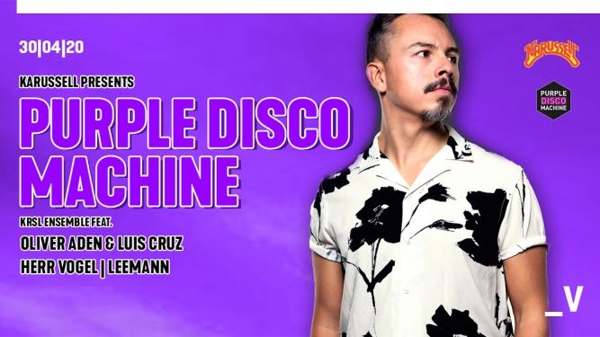 Karussell presents: Purple Disco Machine Viertel Klub Basel Tickets