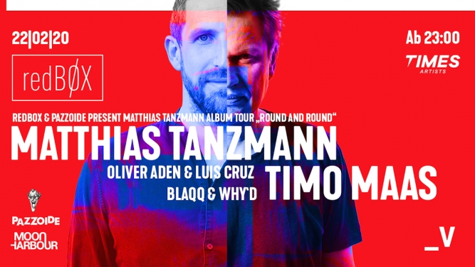 Matthias Tanzmann & Timo Maas Viertel Klub Basel Biglietti