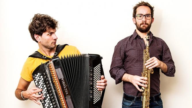 Vincent Peirani & Emile Parisien Salle Paderewski Lausanne Billets