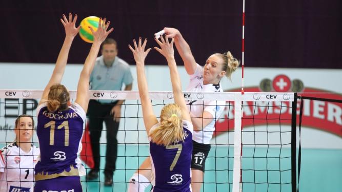 Volero Zürich (SUI) vs. VakifBank Istanbul (TUR) Saalsporthalle Zürich Tickets