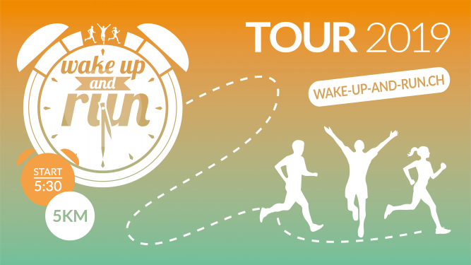 Wake Up and Run Nyon Place du Château Nyon Tickets