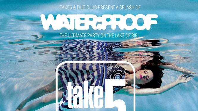 Take5 & 2uo Club Boat Party Schifflände Biel Tickets