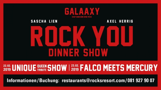 ROCK YOU Galaaxy Laax Tickets