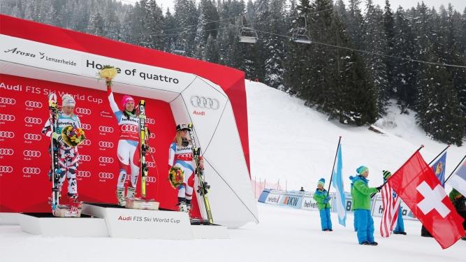 Audi FIS Ski Weltcup Lenzerheide 2018 Talstation Heimberg Parpan Billets