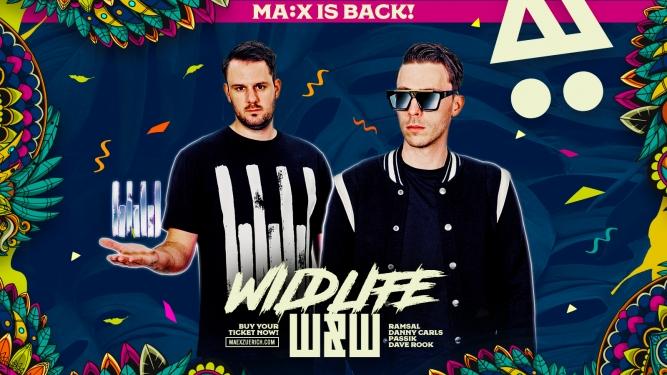 W&W presented by Wildlife MÄX Zürich Tickets