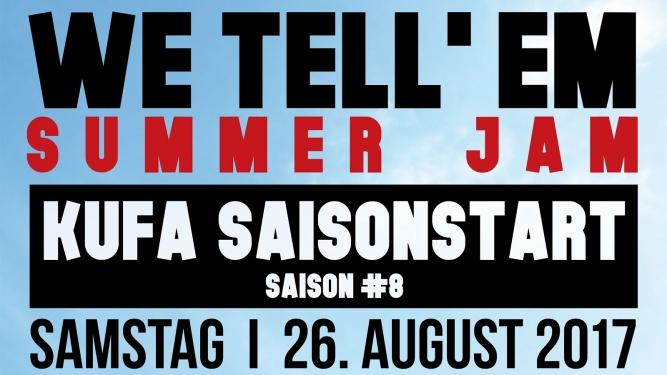 We Tell'Em Summer Jam Kulturfabrik KUFA Lyss Lyss Tickets