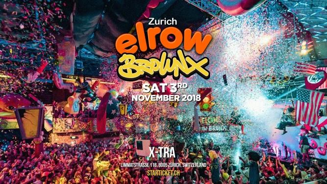 Elrow X-TRA, Limmatstr. 118 Zürich Tickets