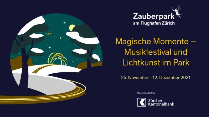 Zauberpark Late Night Walk Flughafenpark im Circle Flughafen Zürich Tickets