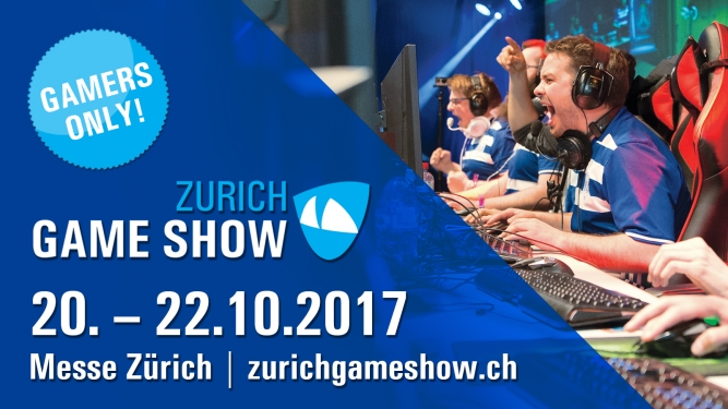 Zurich Game Show 2017 Messe Zürich Zürich Tickets