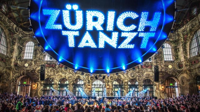 ZÜRICH TANZT Diverse Locations Zürich Tickets