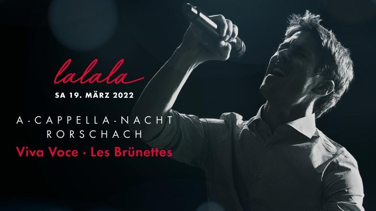 Calendrier Wurth 2022 A Cappella Nacht Rorschach   Sam 19.03.2022   Rorschach   Billets