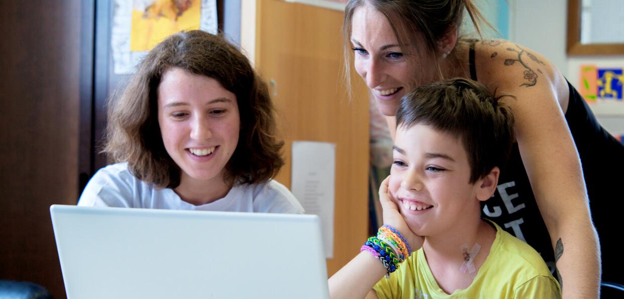 Redonner le goût d'apprendre aux enfants malades
