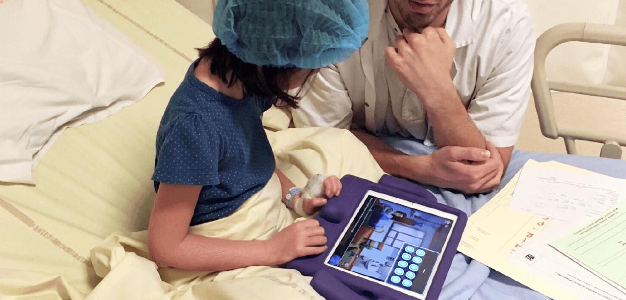 Améliorer le vécu de l'enfant opéré