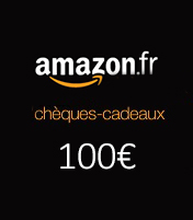 Cheque cadeau Amazon 100€