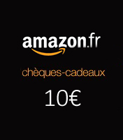 Cheque cadeau Amazon 10€
