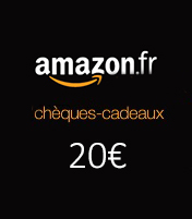 Cheque cadeau Amazon 20€