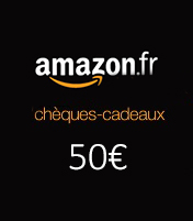 Cheque cadeau Amazon 50€