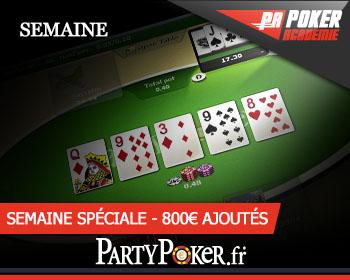 semaine party poker 100k tournoi pokeracademie