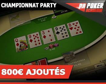 semaine everest poker academie poker festival 50€ gratuit offerts bonus poker