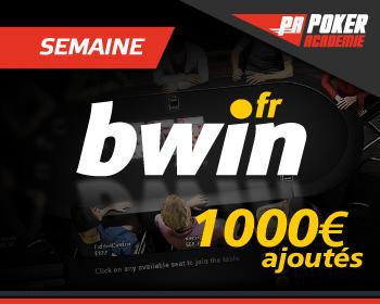 Semaine Bwin 1000€