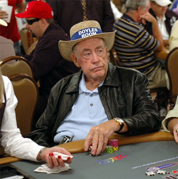 Doyle Brunson Légende Vivante