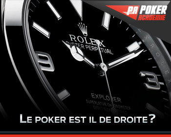 Le poker est il de droite?
