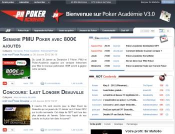 Shortcast Poker Academie V3
