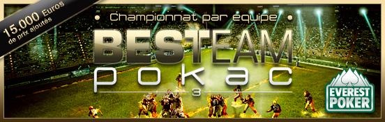 Best Team Pokac Saison 3