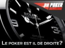 Le poker est-il de droite?