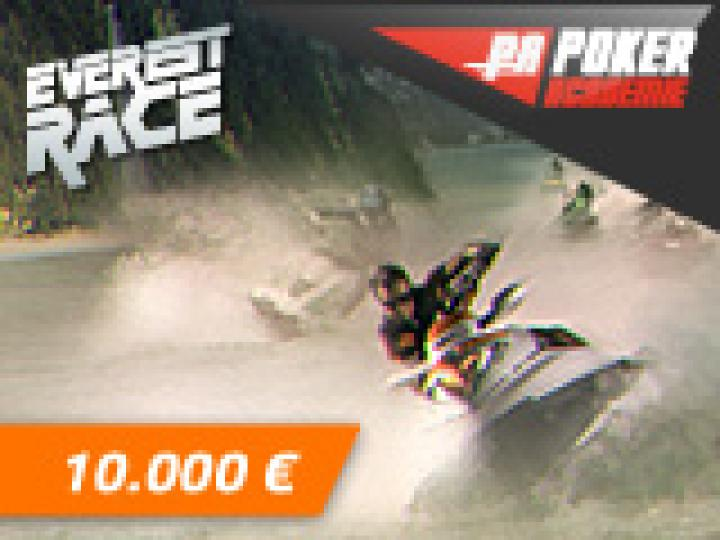 10K€ Poker Academie Race sur Everest Poker en Mai