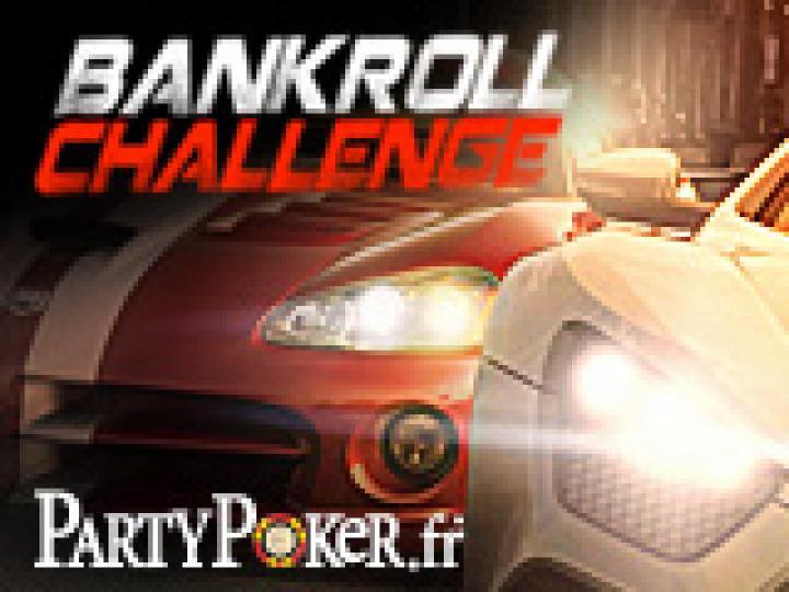 PA Bankroll Challenge sur Party Poker - 2200 € à gagner