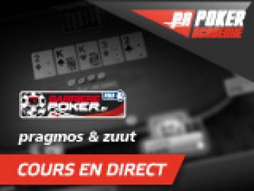 Zuut vs Pedro Canali en direct sur Barrierepoker.fr