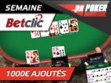 PA Freeroll sur Betclic Poker - 200 € ajoutés