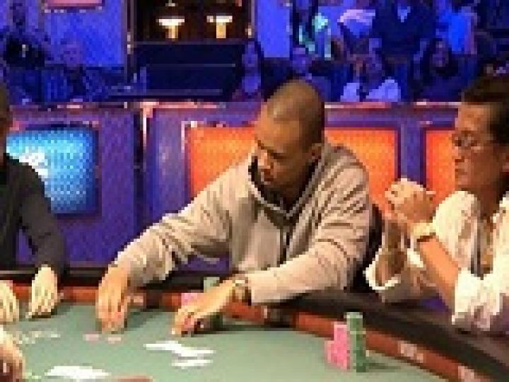 Le rush de Phil Ivey au WSOP 2012
