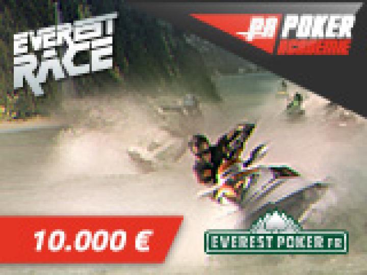 10K€ Poker Academie Race sur Everest Poker en Juillet