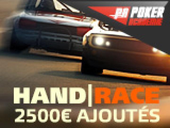Hand Race 2500€ à gagner sur PartyPoker
