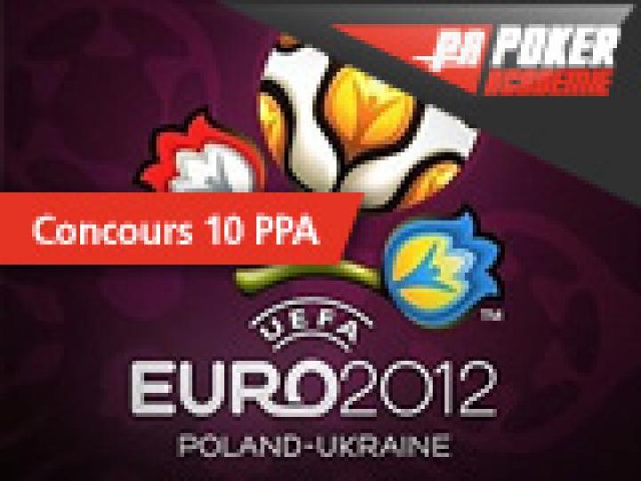 Résultats du concours PA sur l'euro 2012