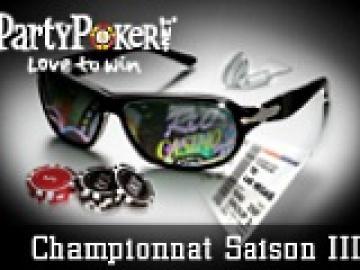 Championnat Poker Academie - Saison 3